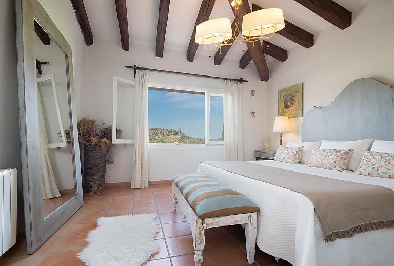 Ferienhaus Mallorca bei Mancor de la Vall für 8 Personen