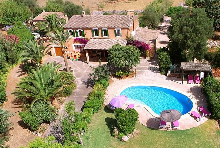 Mallorca Finca Bei Felanitx Fur 8 Personen Und Pool